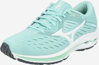 MIZUNO Running shoe 'WAVE RIDER 24' in Mint / White, Item view