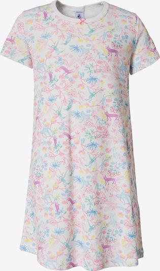 PETIT BATEAU Nachthemd in mischfarben / weiß, Produktansicht