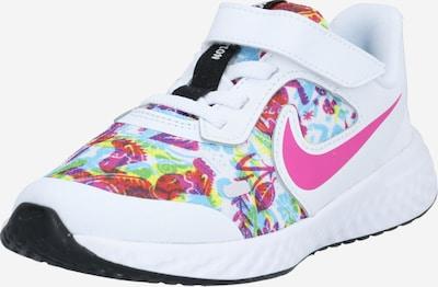 Sportiniai batai iš NIKE , spalva - turkio spalva / rožinė / balta: Vaizdas iš priekio