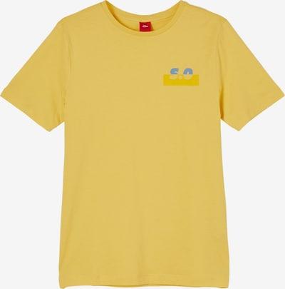 s.Oliver Shirt in de kleur Blauw / Geel, Productweergave