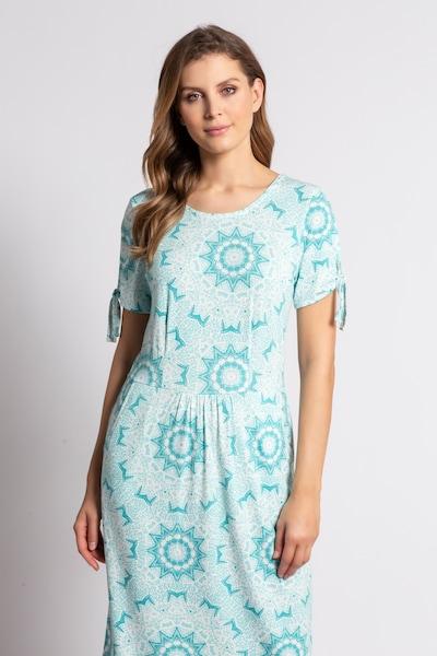 Gina Laura Kleid in blau / türkis, Modelansicht