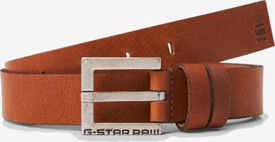 G-Star RAW Riem 'Duko' in de kleur Roestbruin, Productweergave