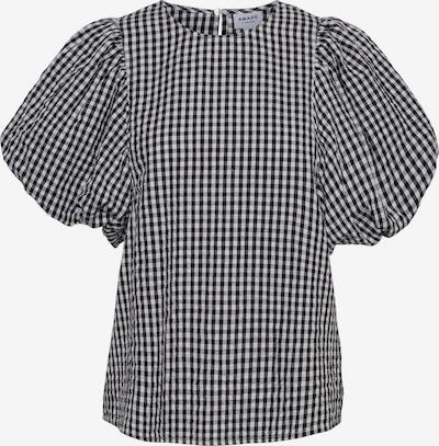 Vero Moda Aware Bluse 'Oline' in schwarz / naturweiß: Frontalansicht