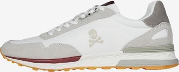 Scalpers Låg sneaker 'Harry' i vit