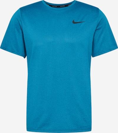 NIKE Sporta krekls debeszils / melns, Preces skats