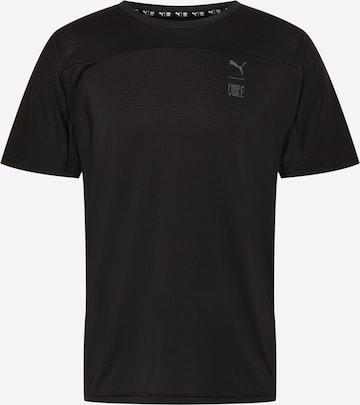 PUMA Funktionsshirt in Schwarz
