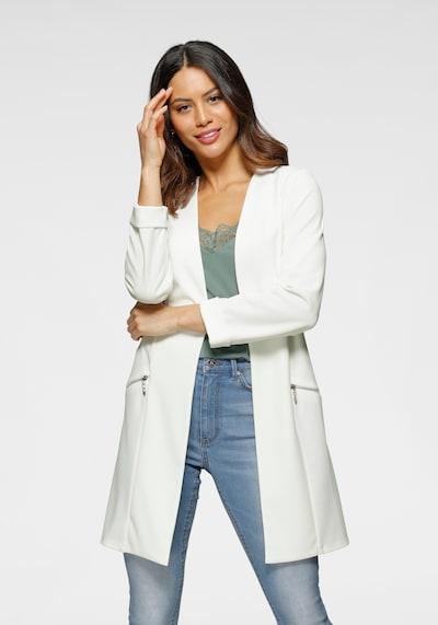 LAURA SCOTT Blazer in weiß, Modelansicht