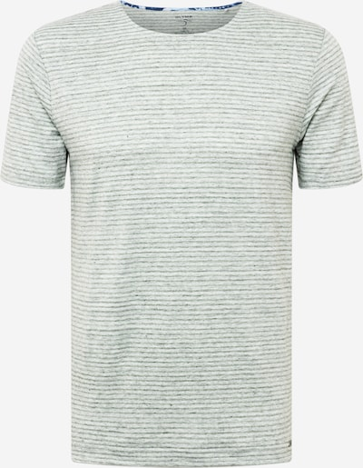 Tricou 'Level 5' OLYMP pe oliv / alb, Vizualizare produs