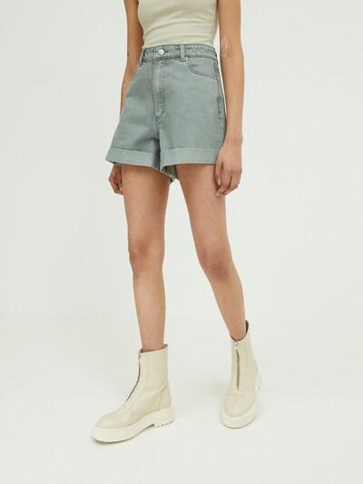 Jeans 'Amy' EDITED pe verde, Vizualizare model