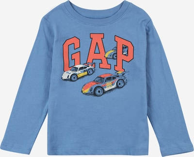 GAP Shirt in rauchblau / mischfarben / melone / weiß, Produktansicht