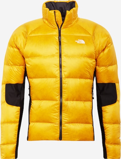 THE NORTH FACE Functional jacket 'CRIMPTASTIC' in gold yellow / black, Item view