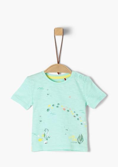 s.Oliver T-Shirt in gelb / pastellgrün / hellpink, Produktansicht