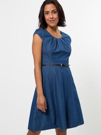 zero Kleid in blau, Modelansicht