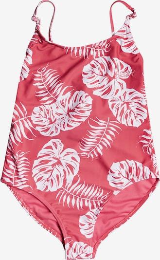 ROXY Badeanzug 'CALIFORNIA FRIENDS' in altrosa / weiß, Produktansicht