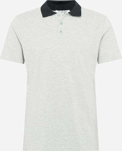 ABOUT YOU T-Shirt 'Willi Shirt' en bleu foncé / gris chiné, Vue avec produit