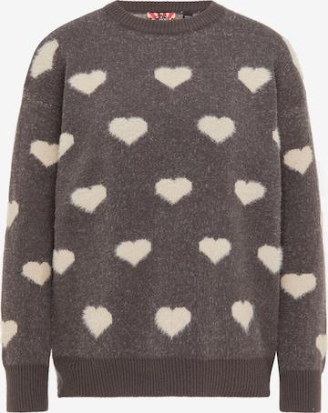 myMo ROCKS Sweater in Grey