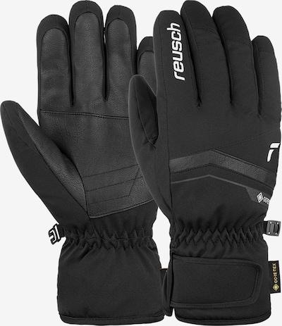 REUSCH Fingerhandschuhe 'Fergus GORE-TEX' in schwarz / weiß, Produktansicht