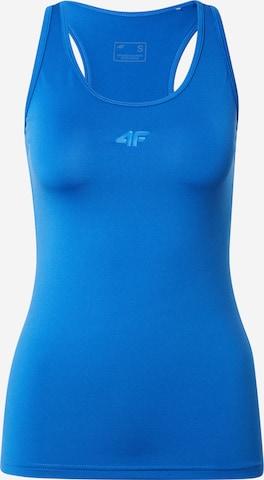 4F Sporttop in Blauw