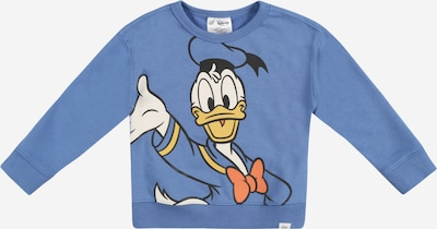 GAP Sweatshirt in rauchblau / gelb / orange / schwarz / weiß, Produktansicht
