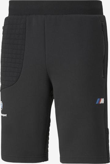 PUMA Sportbroek in de kleur Hemelsblauw / Zwart / Wit, Productweergave