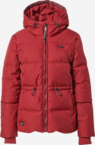 Ragwear Between-Season Jacket 'CALENA' in Red