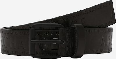 ARMANI EXCHANGE Cinturón 'FASHION' en negro, Vista del producto