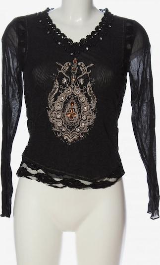 Nienhaus Langarm-Bluse in M in schwarz, Produktansicht