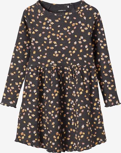 NAME IT Kleid 'Hurid' in dunkelgrau / mischfarben, Produktansicht