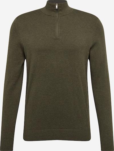 BURTON MENSWEAR LONDON Pullover in khaki, Produktansicht