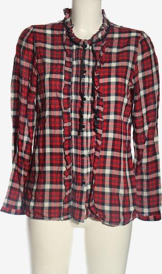 ONLY Rüschen-Bluse in L in blau / rot / weiß, Produktansicht