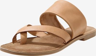 INUOVO Sandalen in hellbraun, Produktansicht