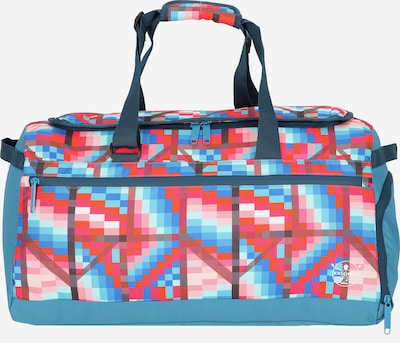 CHIEMSEE Sports Bag 'Get'n'Ready' in Sky blue / Mixed colors / Red, Item view