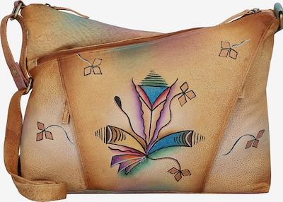 GREENLAND Umhängetasche 'Art & Craft' in hellbraun / mischfarben, Produktansicht