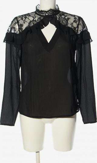 Fashion Union Spitzenbluse in L in schwarz, Produktansicht