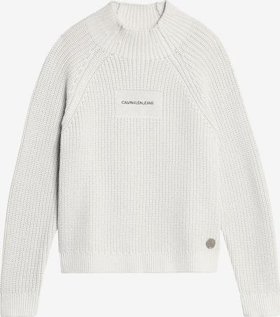 Calvin Klein Jeans Trui in de kleur Wit, Productweergave