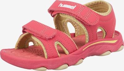 Hummel Sandale in pastellgelb / pastellpink, Produktansicht