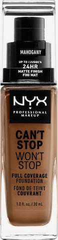 NYX Professional Makeup Foundation 'Can't Stop Won't Stop' in Beige
