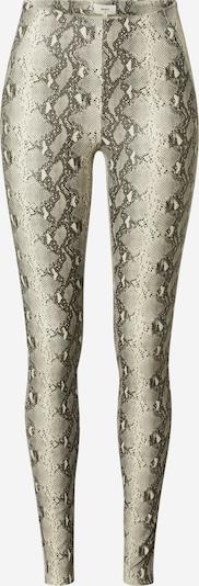 OBJECT Leggings 'Belle' in grau / hellgrau / schwarz, Produktansicht