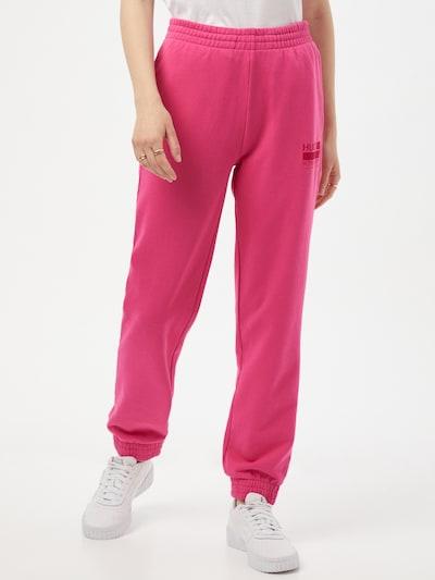 HUGO Hose in pink / rot, Modelansicht