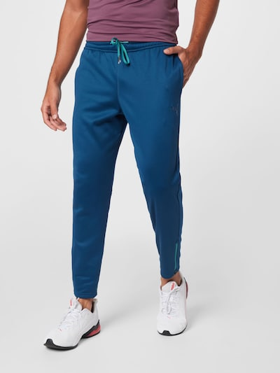 Pantaloni sport PUMA pe azuriu / alb, Vizualizare model