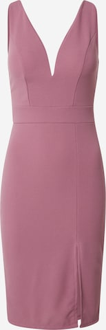 WAL G. Kokteilové šaty 'KADINE' - ružová