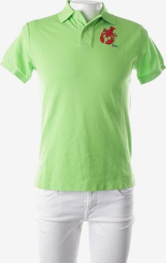 POLO RALPH LAUREN Poloshirt in S in apfel / rot, Produktansicht