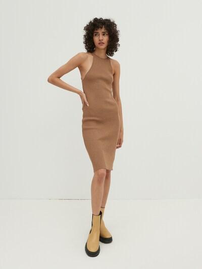 EDITED Šaty 'India' - farba ťavej srsti, Model/-ka