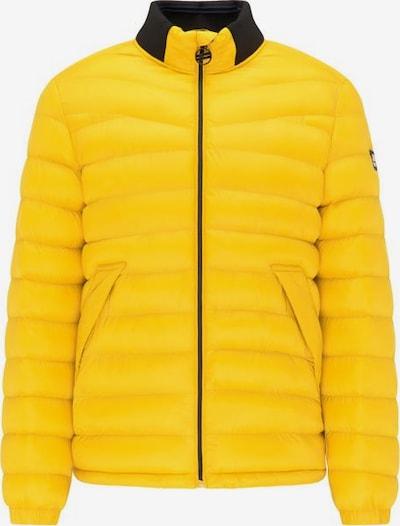 Petrol Industries Winterjas in de kleur Limoen / Zwart, Productweergave