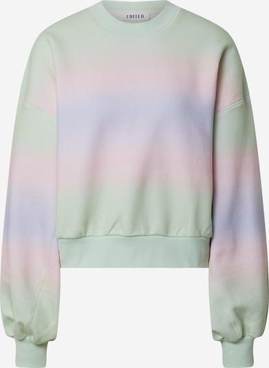 EDITED Sweater majica 'Camilla' u svijetlozelena / svijetloljubičasta / roza, Pregled proizvoda