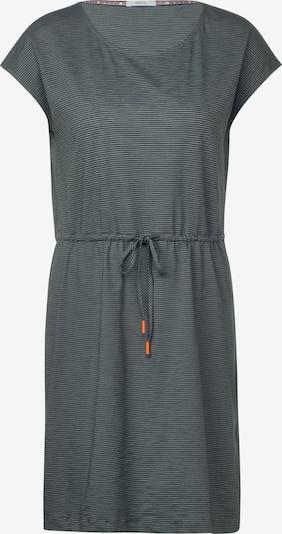 CECIL Jerseykleid mit Streifen in grün, Produktansicht