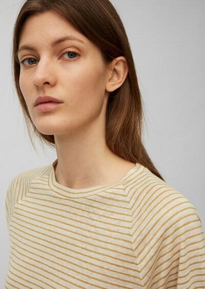 Marc O'Polo T-shirt en beige / jaune, Vue avec produit