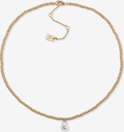 Lauren Ralph Lauren Verižica 'PADLOCK PENDANT' | zlata / srebrna barva, Prikaz izdelka