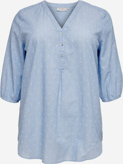 ONLY Carmakoma Tunic in Light blue / White, Item view