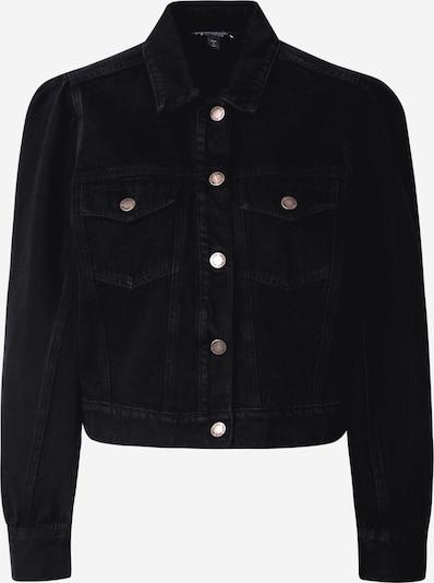 Miss Selfridge Jacke in black denim, Produktansicht